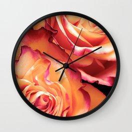 Romantic roses(13) Wall Clock