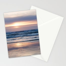 Beach Glow Stationery Cards