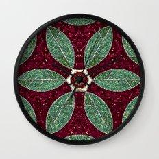 Turkish Bath Mosaic Wall Clock
