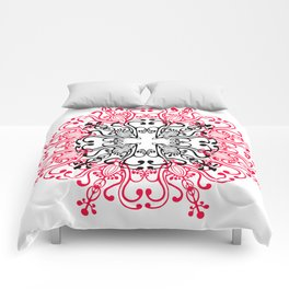Mandala. Comforters