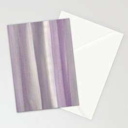 Purple Gray Watercolor Dream #1 #painting #decor #art #society6 Stationery Cards