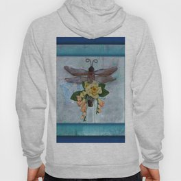 Dragonfly Love by Kathy Morton Stanion Hoody