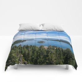 Emerald Bay, Lake Tahoe Comforters