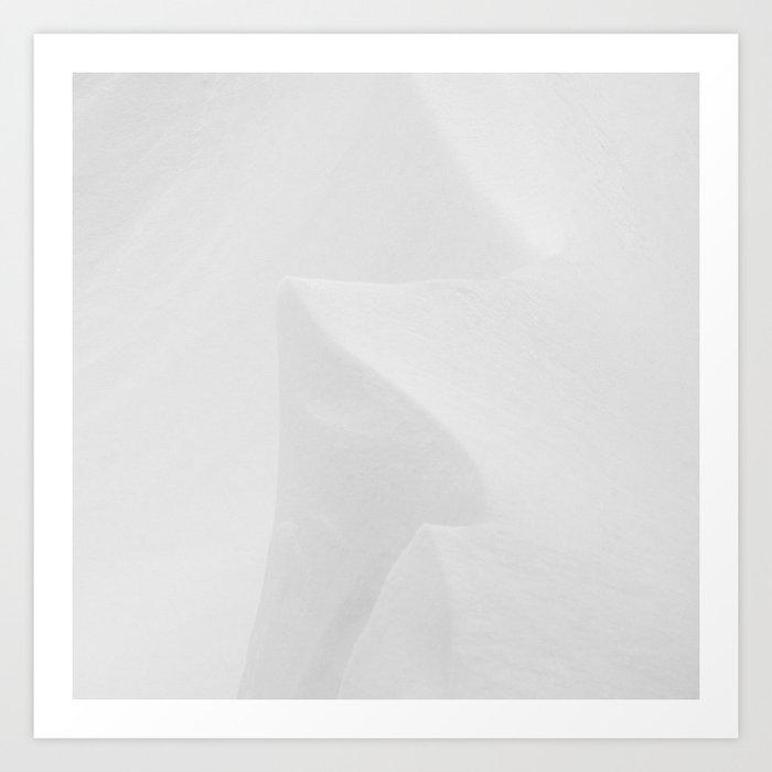 Snowscape 3 Art Print