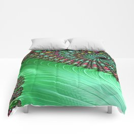 Carnival Green Comforters