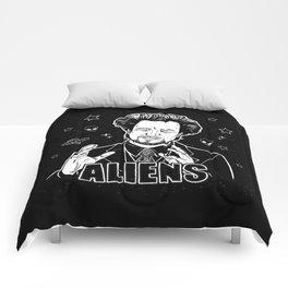 Aliens Guy (Giorgio Tsoukalos) Comforters