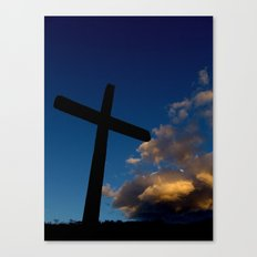 Dawn of faith Canvas Print