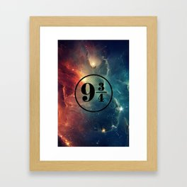 Platform 9 3/4 Nebula HP Framed Art Print