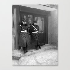 Beijing Police Canvas Print