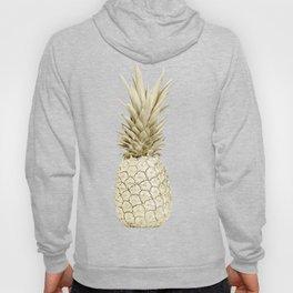 Pineapple Pineapple Gold on Navy Blue Hoody