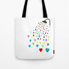 Love shower Tote Bag