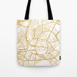 BERN SWITZERLAND CITY STREET MAP ART Tote Bag