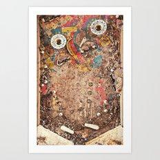 Pinball Machine Art Print