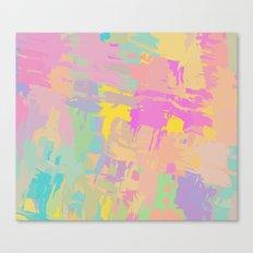 Pastel mix Canvas Print