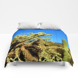 Colorful Depth of Field Comforters