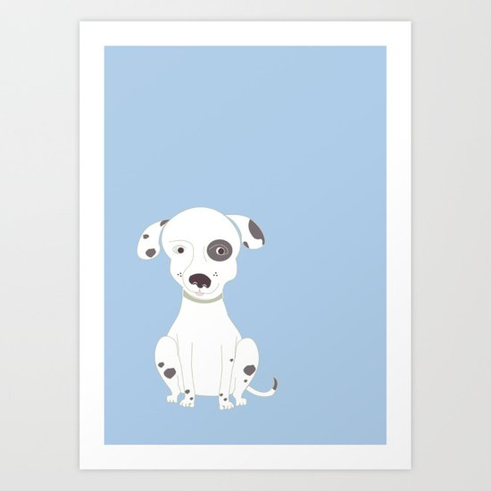Patch Art Print