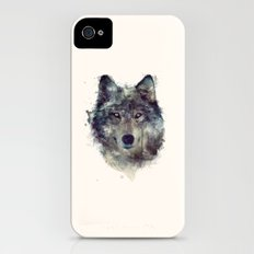Wolf // Persevere  Slim Case iPhone (4, 4s)