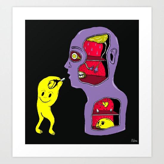 The Pill Art Print
