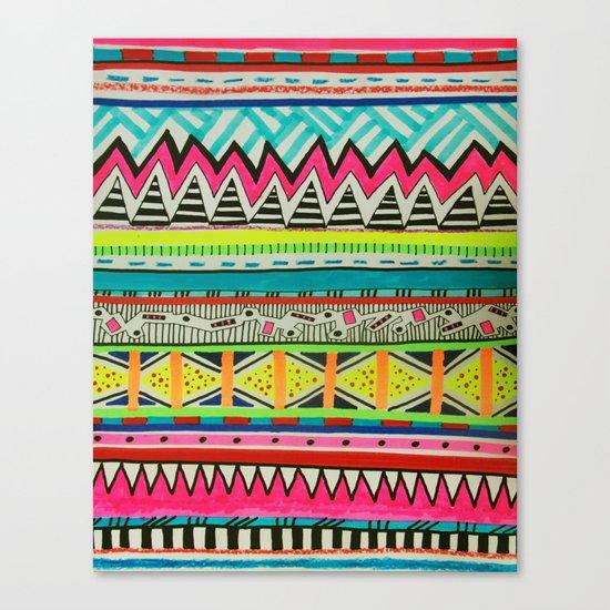 VIVID EYOTA Canvas Print