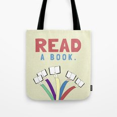 Read a book. Tote Bag
