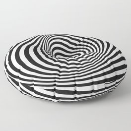 T Shirt Texture Zebra Stripes Printed Tops Tees Graphics Pattern Floor Pillow