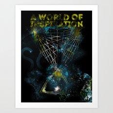 A World of Inspiration Art Print
