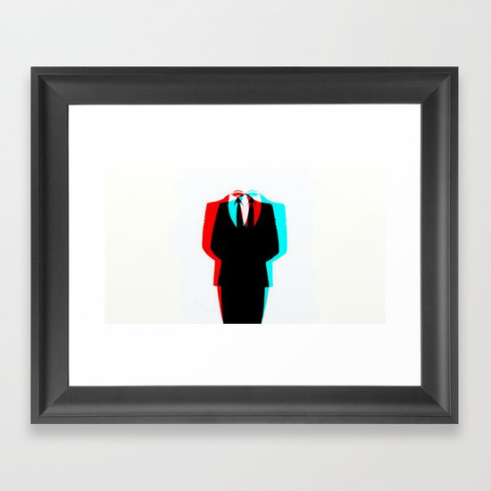 Anonymous.1 Framed Art Print