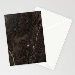 Brown Vein Marble Dark Brown Interior Coffee Home Decor Stone Minimal Design Stationery Cards