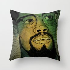 By Any Means Necessary Throw Pillow