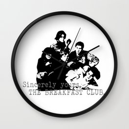 The Breakfast Club Wall Clock