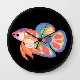 Koi betta Wall Clock