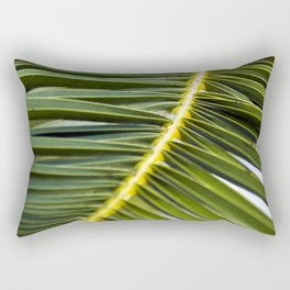 Green Palm-Leafes of Sicily Rectangular Pillow