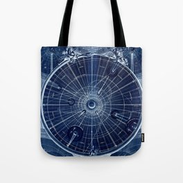 Celestial Map of the Universe Tote Bag