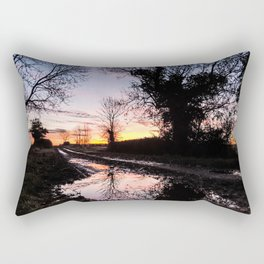 Dawn on the Lane Rectangular Pillow
