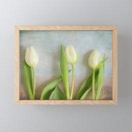 Tulips - JUSTART © Framed Mini Art Print