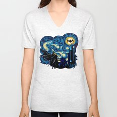 Starry Knight iPhone 4 4s 5 5c 6, pillow case, mugs and tshirt Unisex V-Neck