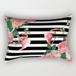 tropical flamingo Rectangular Pillow