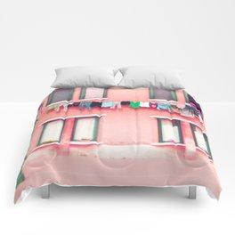 Laundry Venice Italy Travel Photography Comforters