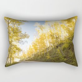 Mountain Trail Rectangular Pillow