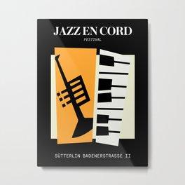 Jazz | Bauhaus II Metal Print