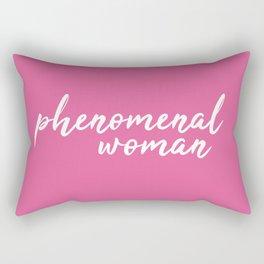 Phenomenal woman Rectangular Pillow