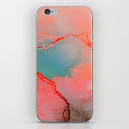 BETTER TOGETHER - LIVING CORAL by MS iPhone Skin
