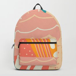 beach quilt Backpack