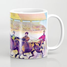 Louis Maurer - Fast trotters on a fast track - Digital Remastered Edition Coffee Mug