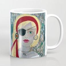 PIRATE GIRL, Positive Art Mug