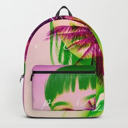 pink vibes only Backpack