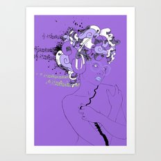 Beatz unlimited for a limited time Art Print