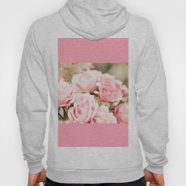 Vintage roses bouquet sepia toned flowers Hoody