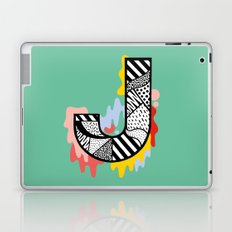 J for ... Laptop & iPad Skin