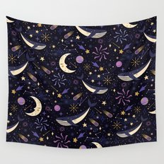 Sea Space Wall Tapestry